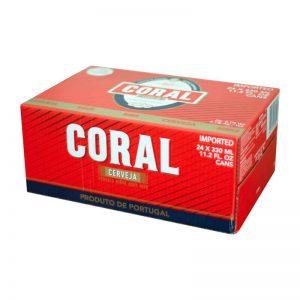Coral Branca de 33cl de Lata