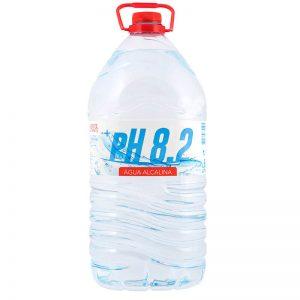 Água PH 8.2 Garrafão 6Lt Pet