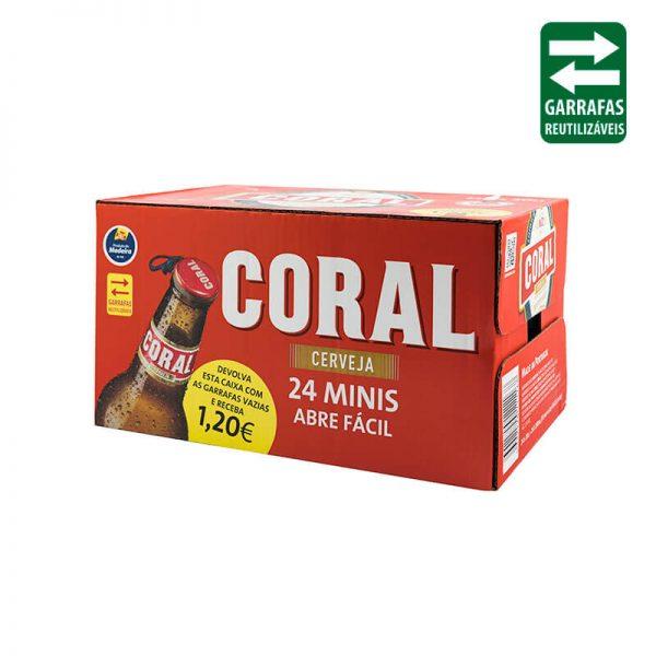 Coral Branca Caixa 24 UND 0,20Lt Vidro