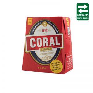 Coral Branca Pack 6 UND 0,33Lt