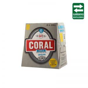 Coral Branca Pack 6 UND 0,20Lt