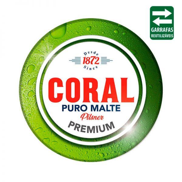 Coral Puro Malte Barril 10 Litros Reutilizável