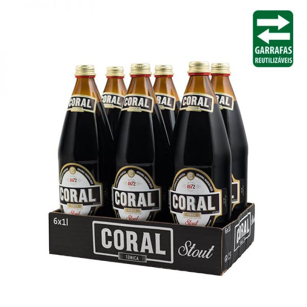 Coral Stout Pack 6 1L