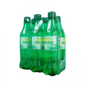 Água Atlântida com Gás de 0.5L - Pack de 6
